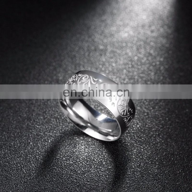 2017 New Retro Platinum Men's Rings with Wholesale Prices in Pakistan