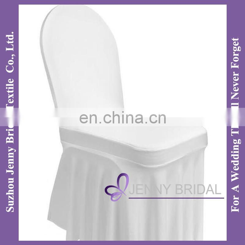 C465A elastic chair seat cover prices rosette decoration seat covers for chairs