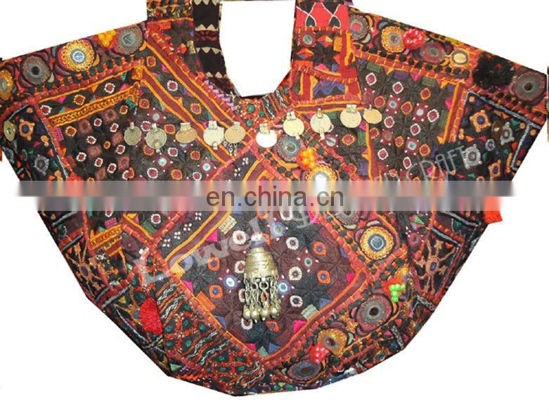 BANJARA bags with tassels & coin decoration