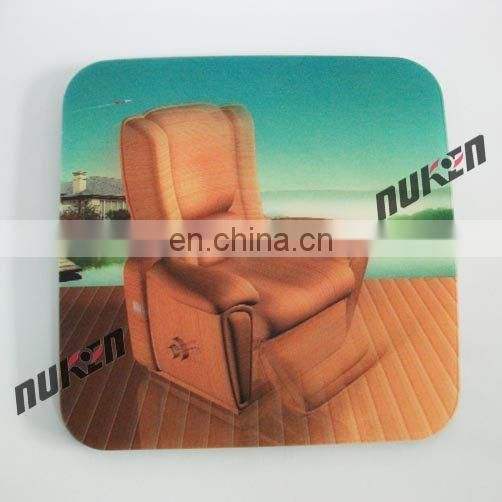 New arrival 3d lenticular custom free sample mouse pad for promotional/gift