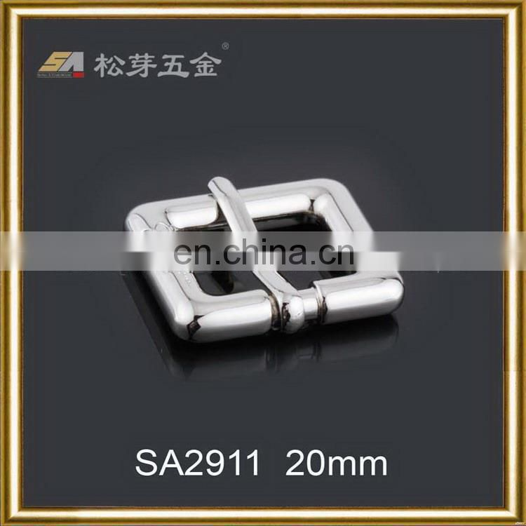 Best quality new coming fashion shiny pin buckle with roller