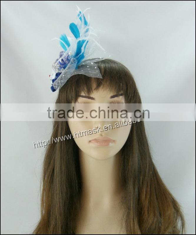 wholesale ostrich and chicken feather headdress indian