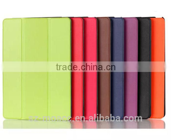 Ultra Thin pu leather flip case for google nexus 9
