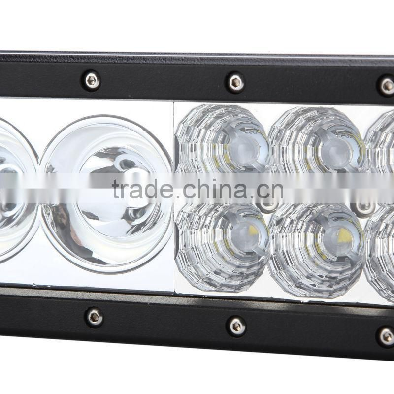 2015 new product!76w led light bar for atv utv,suv,4x4 driving lights with 4w 10w chips mixed