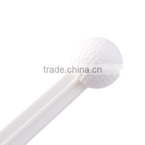 Golf Plastic Practice Ball with Stick Portable Rod Golf Ball Training Aid Golf Accessories