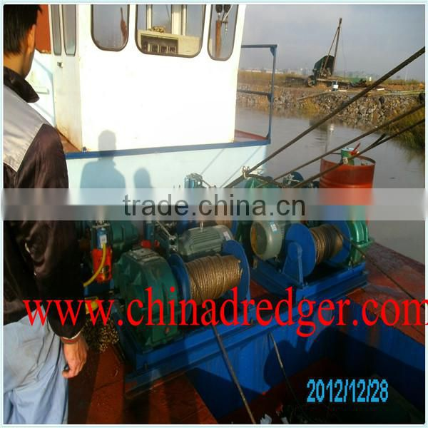 hydraulic cutter suction dredger , sand suction dredger for sale