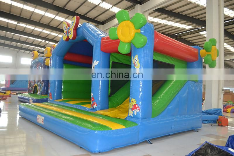 2016 New design inflatable combo bouncers for kid