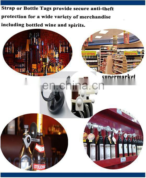 High Sensitive eas Wine Bottle Tag, new abs anti theft bottle tag