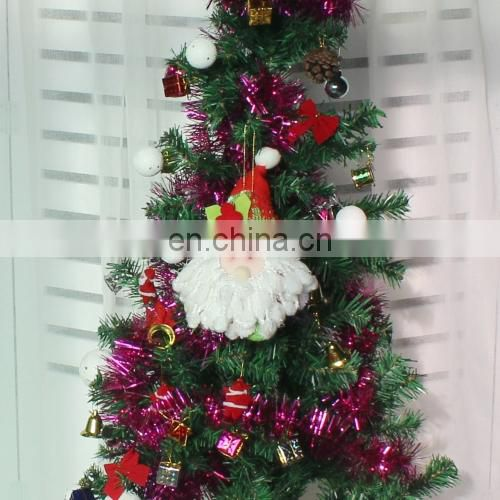 Hang Ornament Christmas Doll mini tree popular wholesale festival items wholesale santa sacks