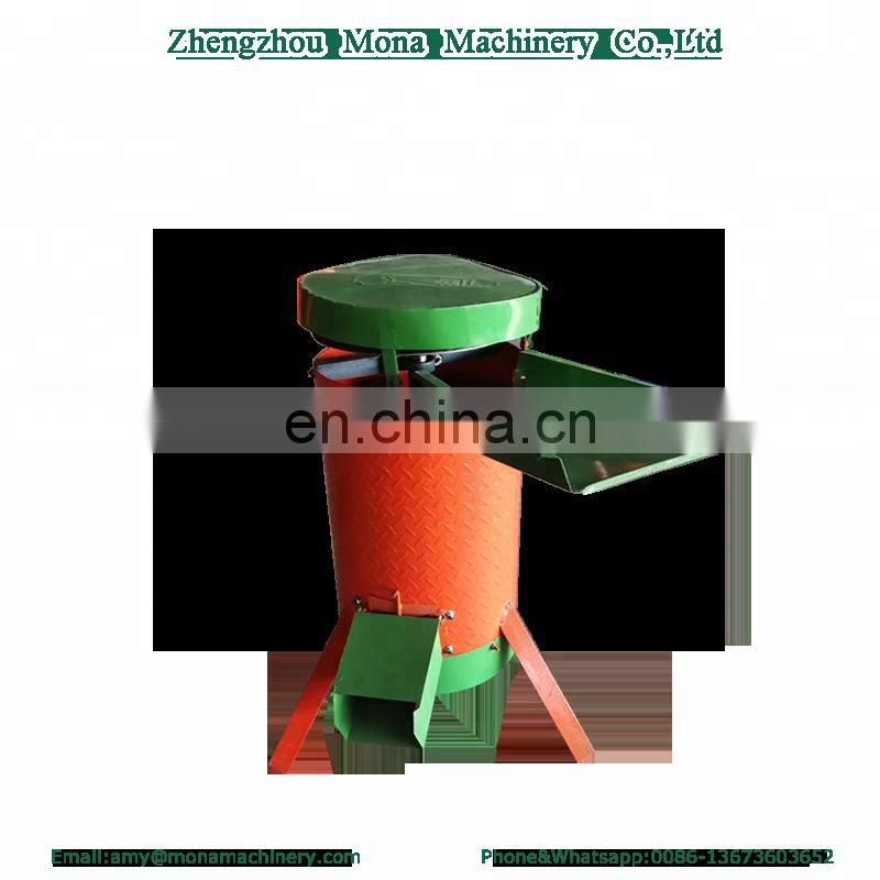 electric small size walnut green skin peeling machine Image