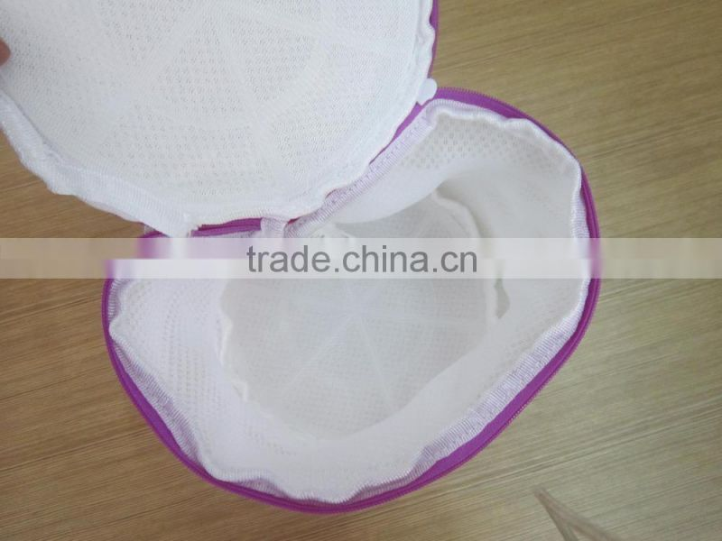 ready stock polyester mesh fabric Laundry bag for wholesale