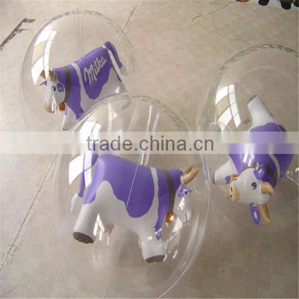 PVC inflatable toy,Various design ,pink rabbit ,pink pig