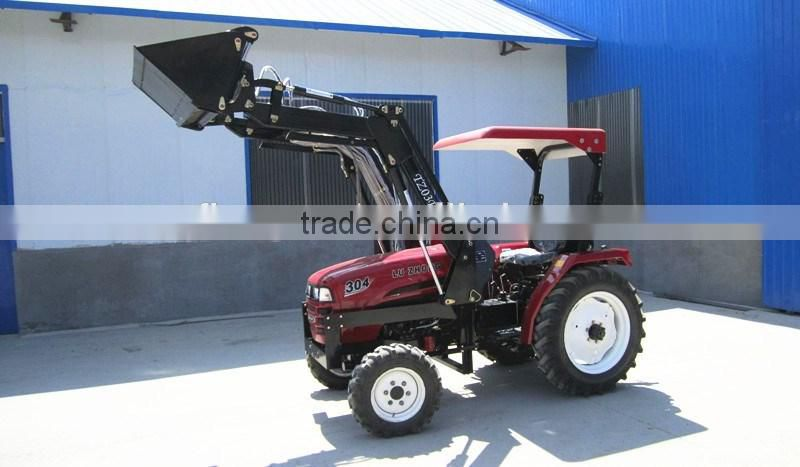 30hp 4WD Tractor Front End Loader with 4 in 1 bucket of FARM