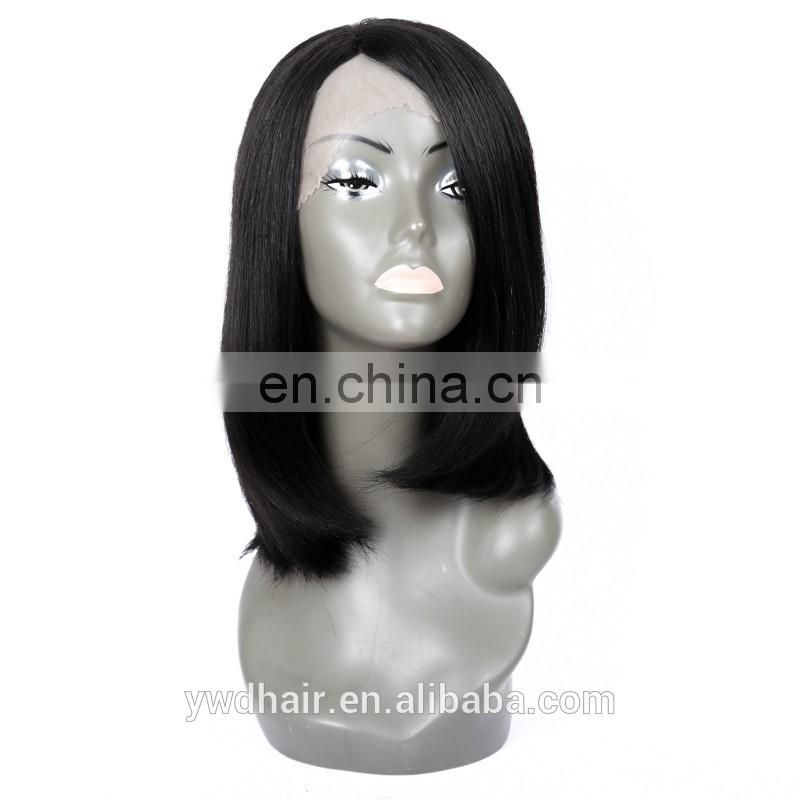 8-26inch human hair short bob lace front wig Virgin Brazilian Straight Glueless human hair full lace wig with baby hair