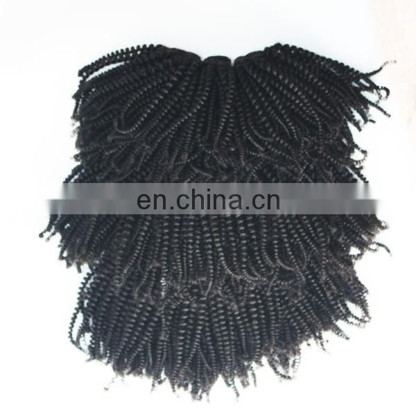 Soft beautiful human hair extension lovely popular afro kinky hair for braiding