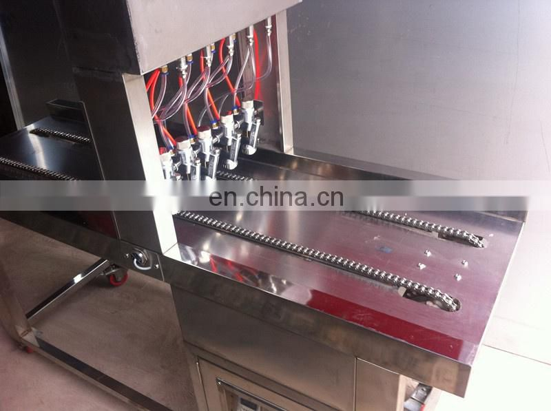 Automatic Grouting Oil Sprayer Machine /oil sprayer for cake tray Image