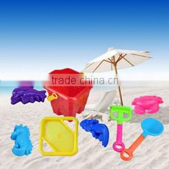 Funny summer beach sand castle molds toy