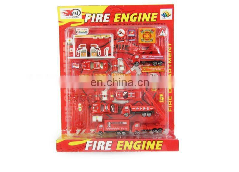 Fire engine car play set