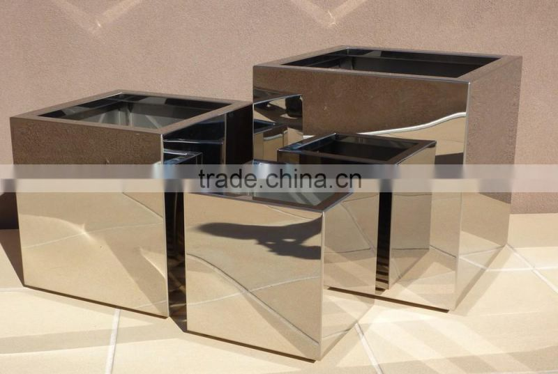 1 2mm Thick Tall Stainless Steel Pots