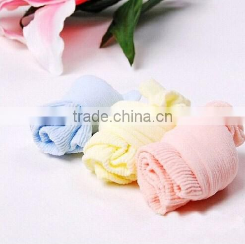 Best selling candy color baby cotton socks/newborn baby socks /thin cotton socks