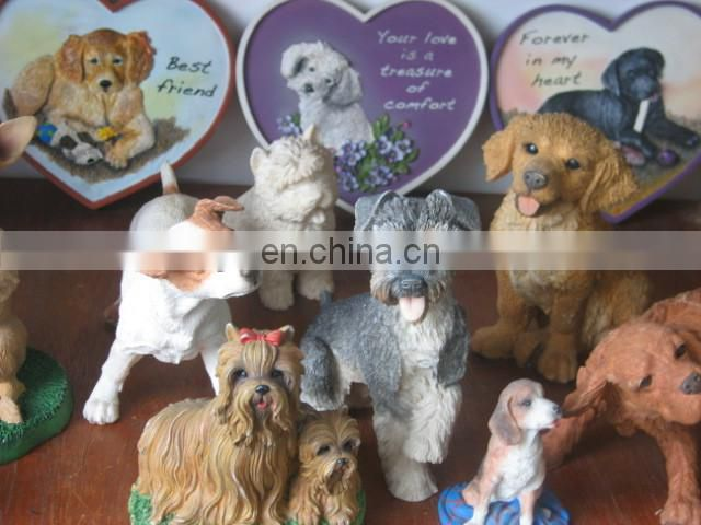 China Supplier High Quality Custom polyresin Dog Award Trophies with Dog Shape Trophy