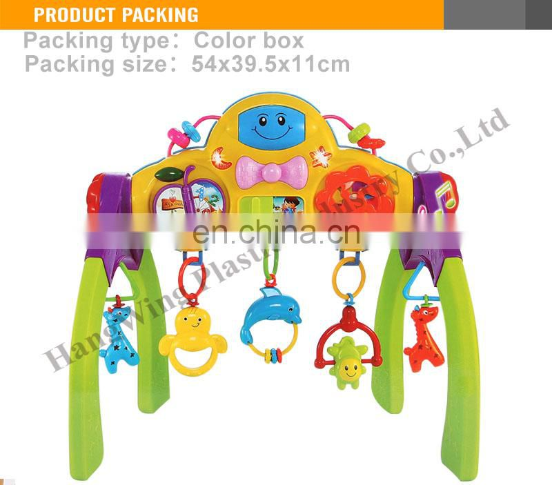 Hot Selling Mutul-Function musical gym baby fitness frame