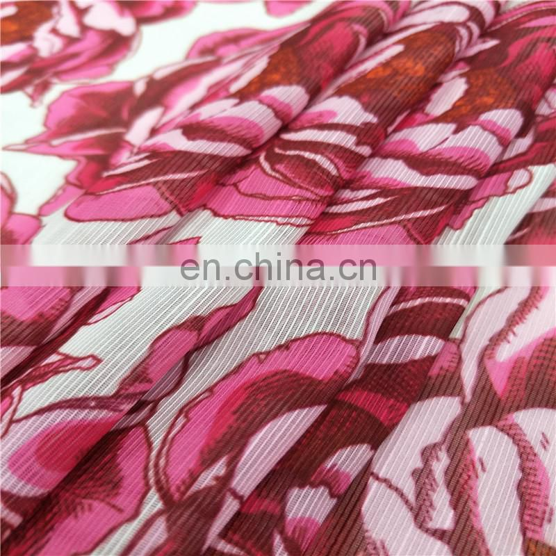 Latest Hot Sale Fish Print Design Digital Print Knit Fabric Rayon Elastic Jersey Fabric