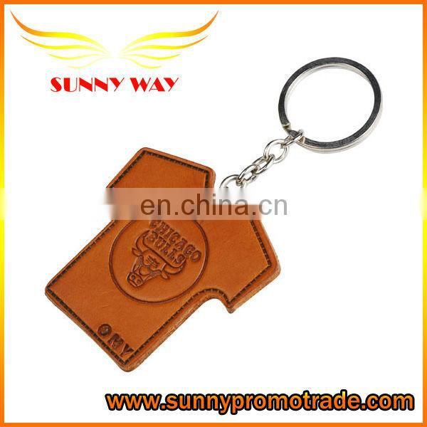 2017 Leather Promotional Keychain with high quality