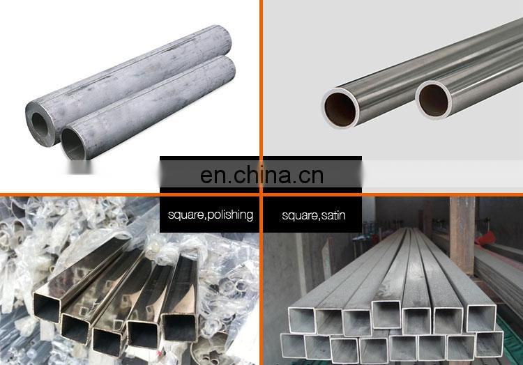 2mm thickness small diameter stainless steel pipe polish decoration welded stainless steel pipe