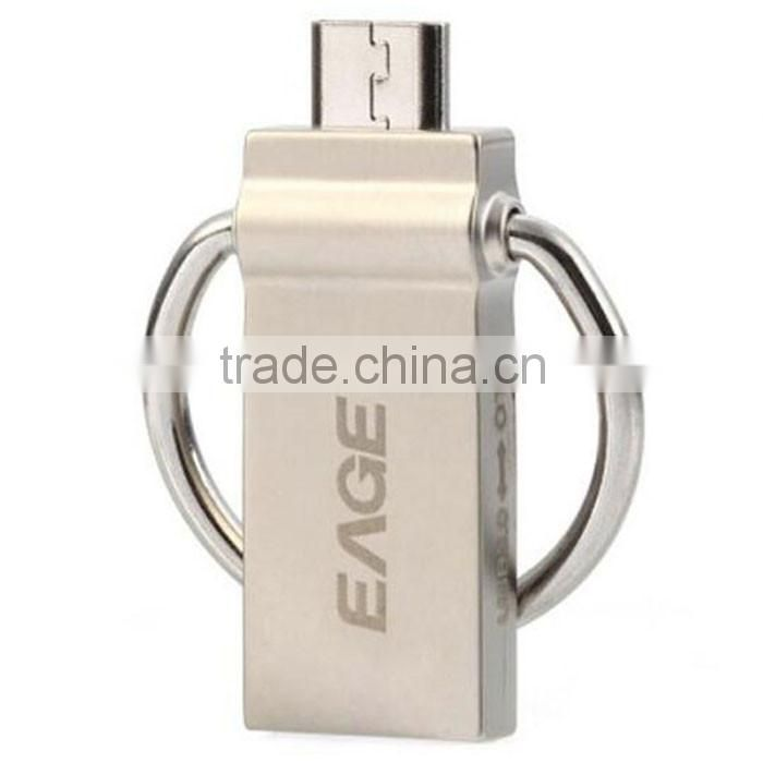 64GB Ultra Mini USB Flash Drive USB 3.0 OTG Smartphone USB Pen Drive Thumb Drive Light Golden