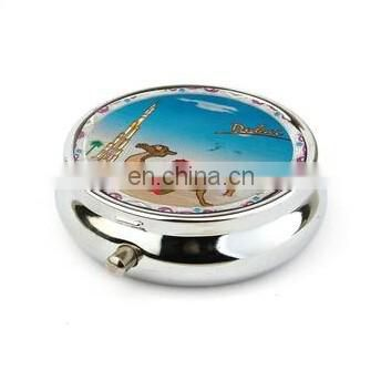 2014 New Supply metal wholesale pill box wholsale decorative dubai tower pill box crystal pill box