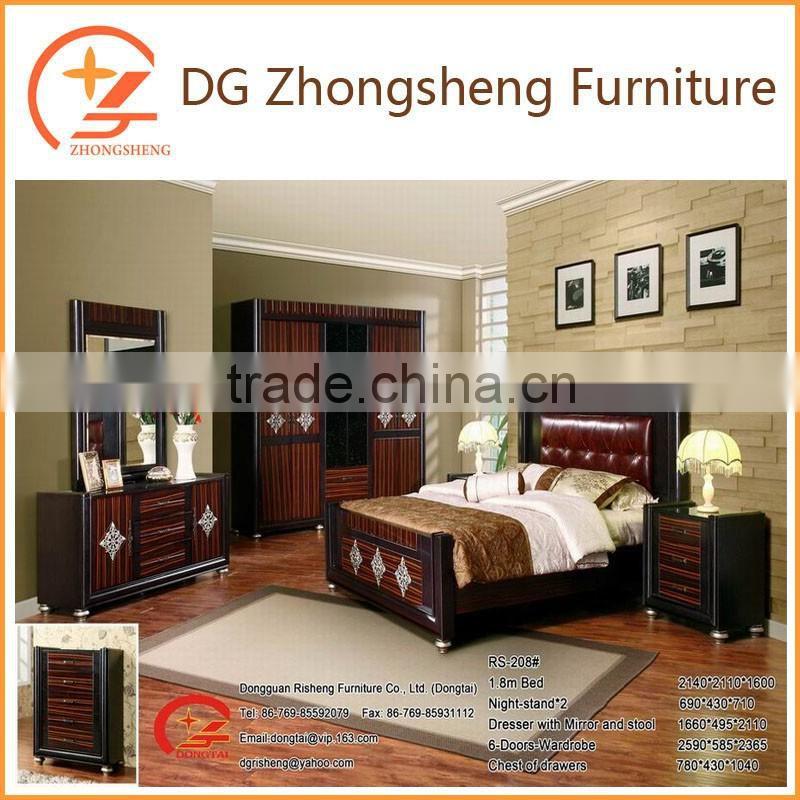Paper finished polywood bedroom furniture manufacturer of ...