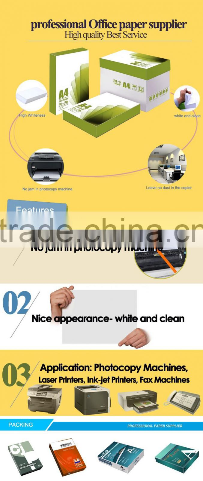 2015 high quality cheap double a4 paper,copy paper a4 indonesia and