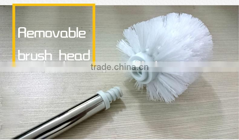 Toilet Brush Head : Stainless steel cleaning brush cheap cleaning brush plastic toilet