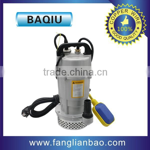self-priming electric single phase 0.37kw 0.5hp water pump