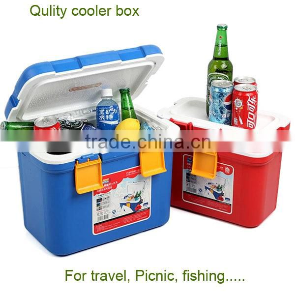 5/7/10/15/20/28L Outdoor Camping Fishing Thermal Insulated Plastic Ice Cooler box Picnic ice chest