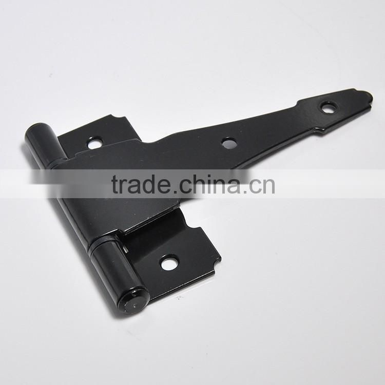 Zinc Black Types of Wooden Window Lace T Hinge