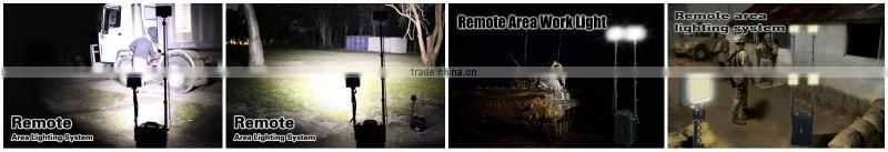 36W High Flux outdoor remote area portable tripod work light photographic equipment