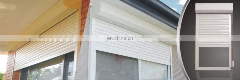 Cheap metal curtain aluminium roller shutter