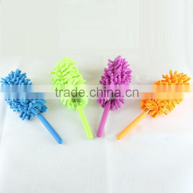 Best Selling mini Telescopic Microfibre colorful Chenille Washable Duster Quality Assured