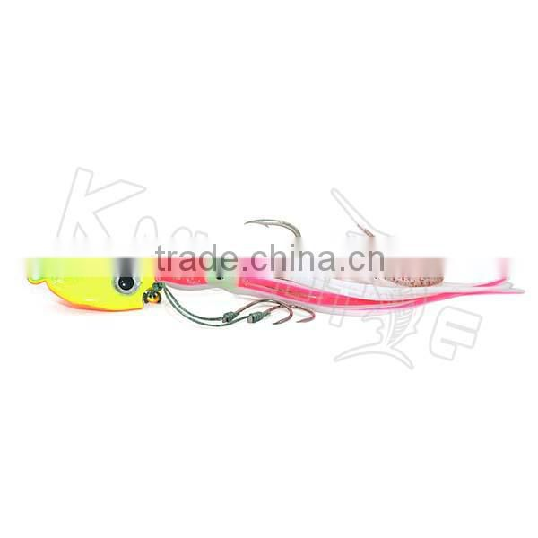 Chentilly CHLP27 brand new lead jigs with octopus skirts soft body fishing lure                                                                                                         Supplier's Choice Image