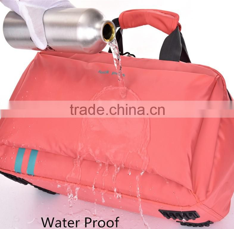 Women's Folding Light Gym Bag Made by Waterproof Material