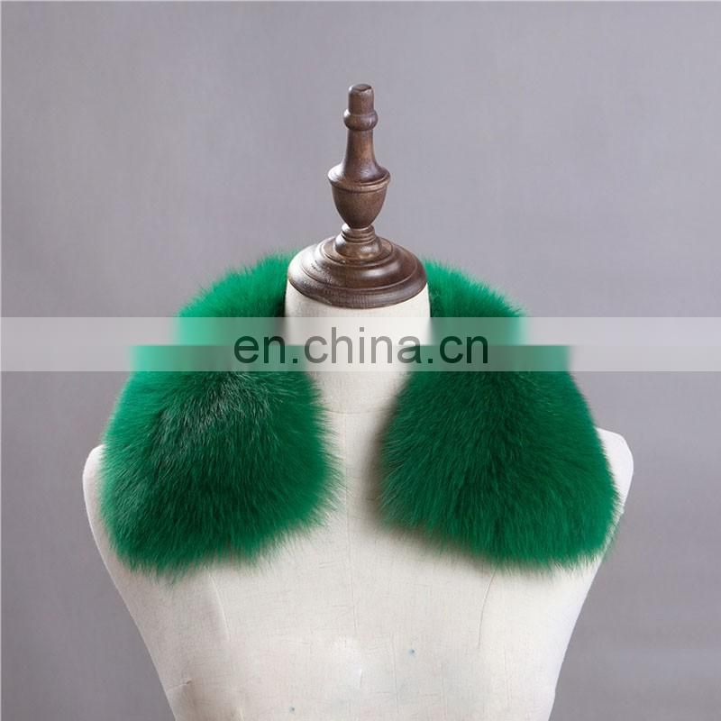 Tongxiang real jumbo fur collar scarf short style fashion women neck warmer