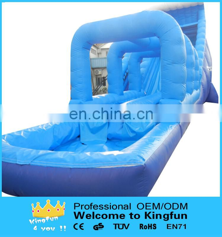 Giant inflatable water slide for event