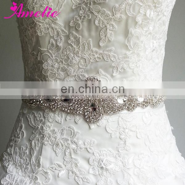 Crystal Wedding Sashes for Wedding dress