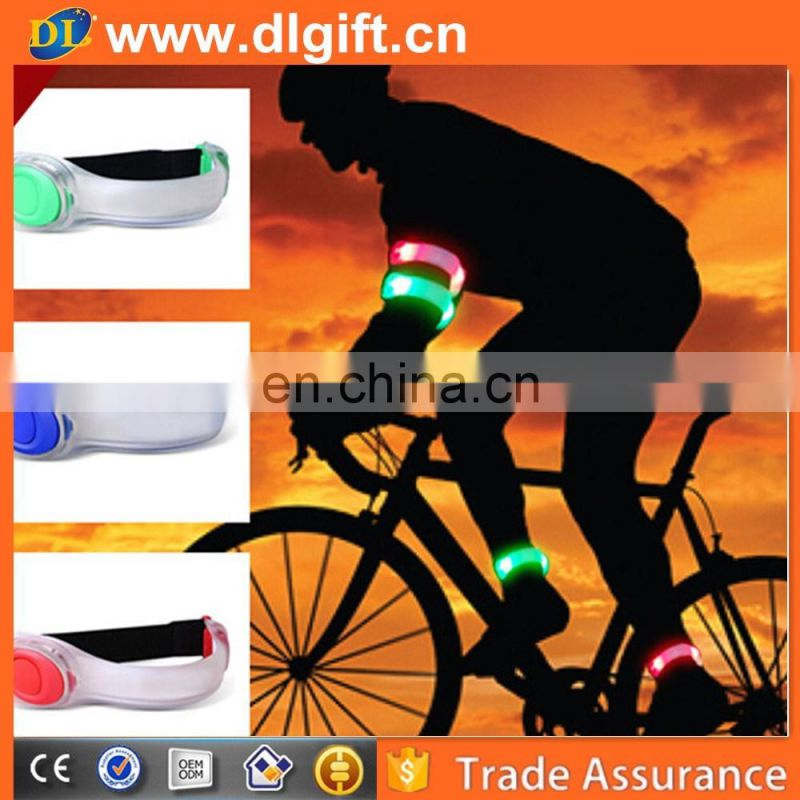Popular running nylon led light up glowing armband