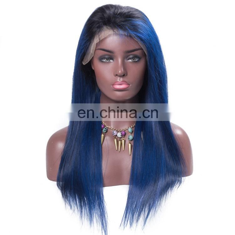 Wholesale lace wigs human hair wig ombre