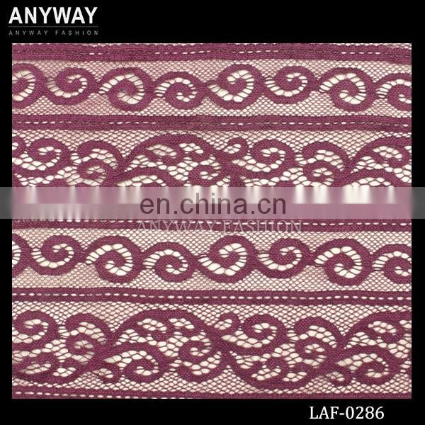 New tendency 3d custom lace fabric fashion lace fabric african wholesale dry lace fabric for dress