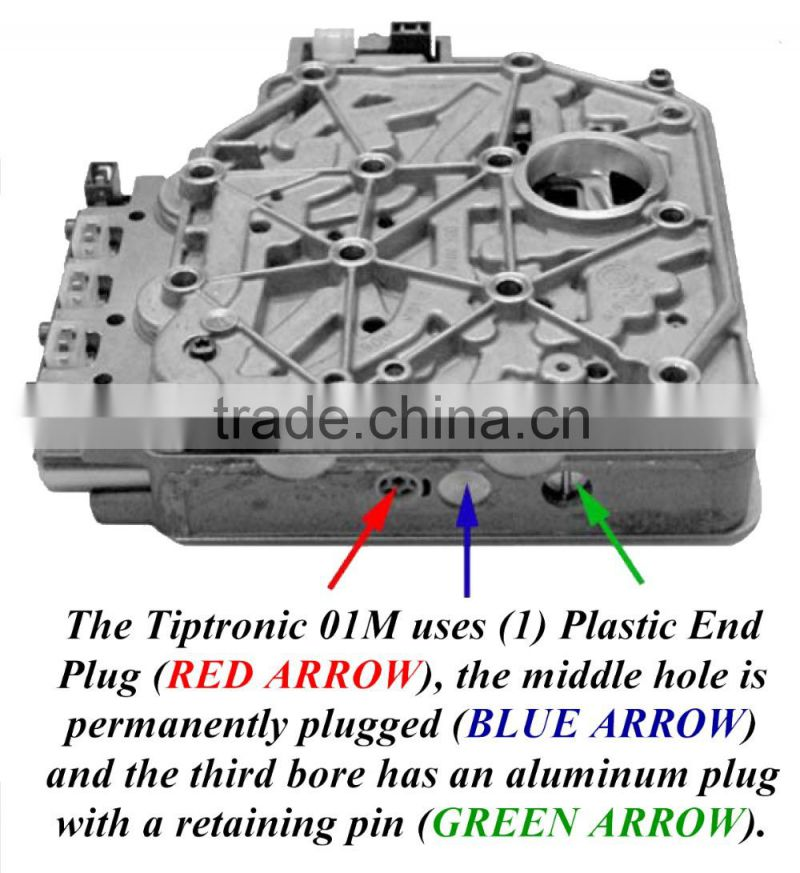 auto transmission valve body for 01M gearbox parts hydraulic control