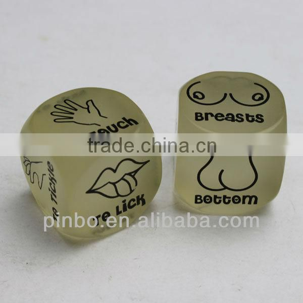Cute Custom Round Dice